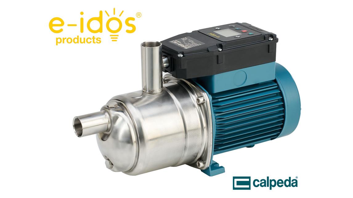 Logo e-idos®: Die neue Innovation von Calpeda