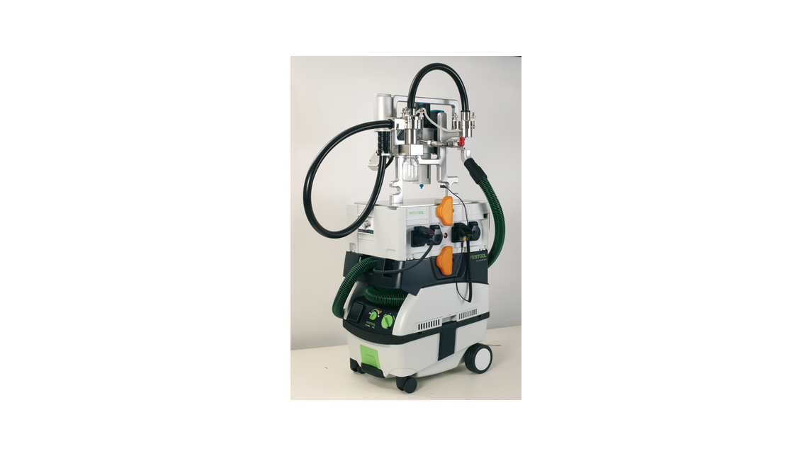 Logo Particle suction extraction system CPS²