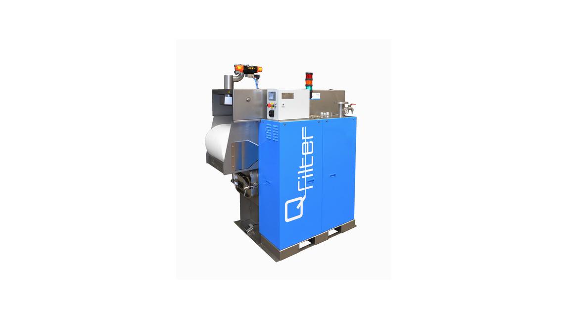 Logo Q-Filter®, the intelligent belt filter
