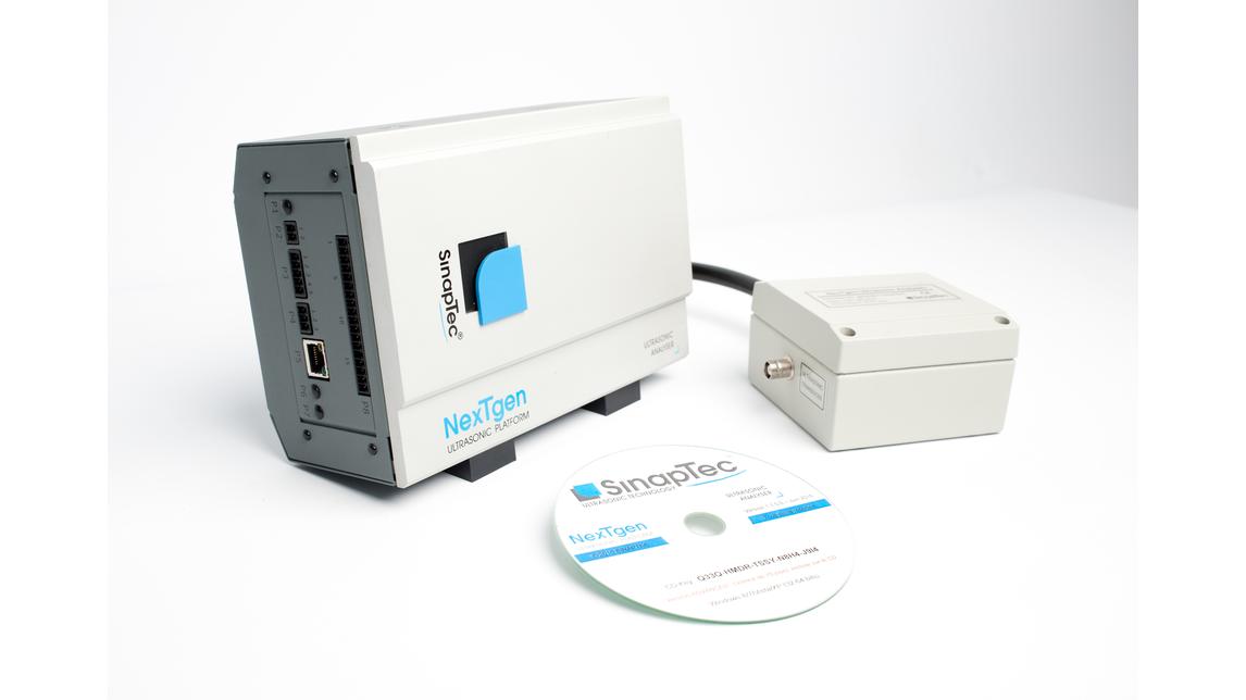 Logo NexTgen ultrasonic Analyser