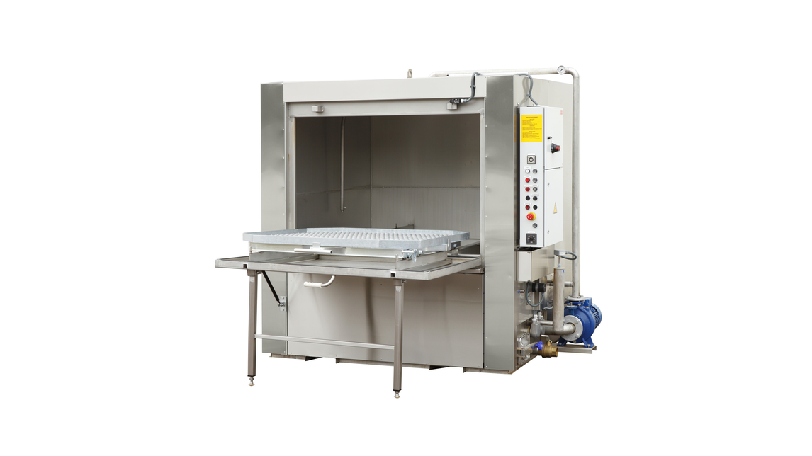 Logo Single-stage component cleaning machines