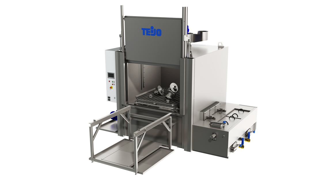 Logo Multi-stage component cleaning machines