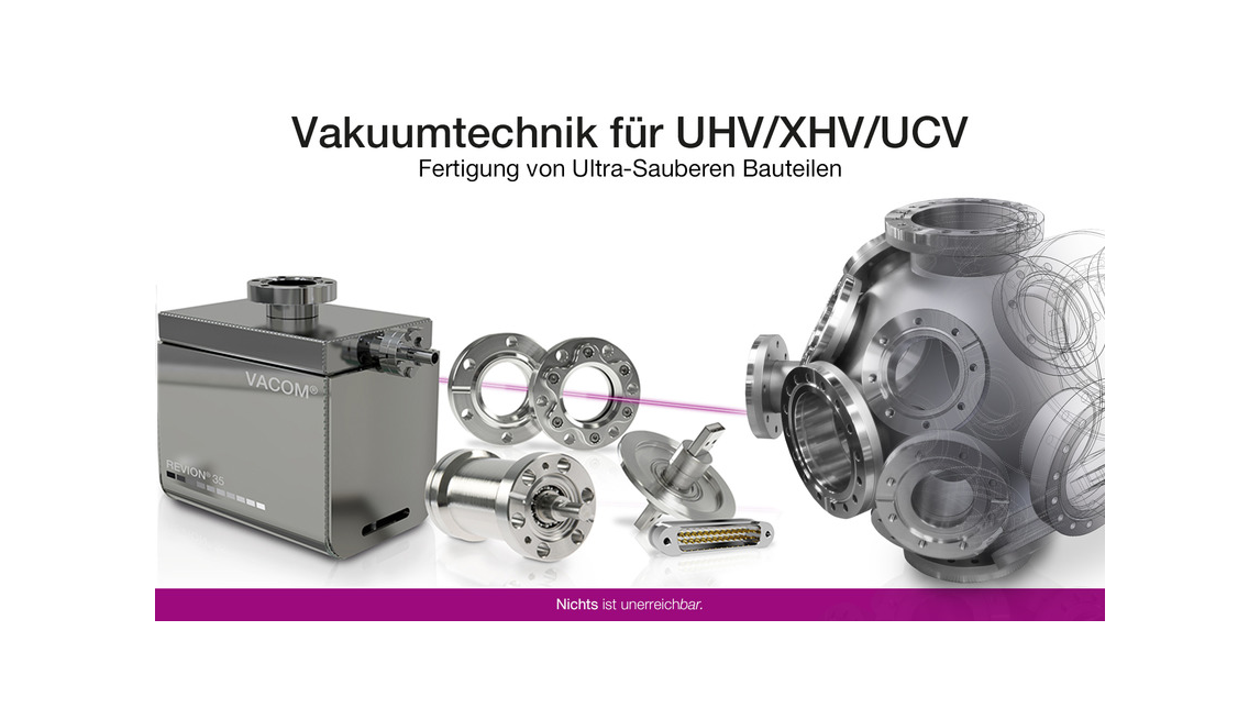 Logo Manufacturing of ultra clean components