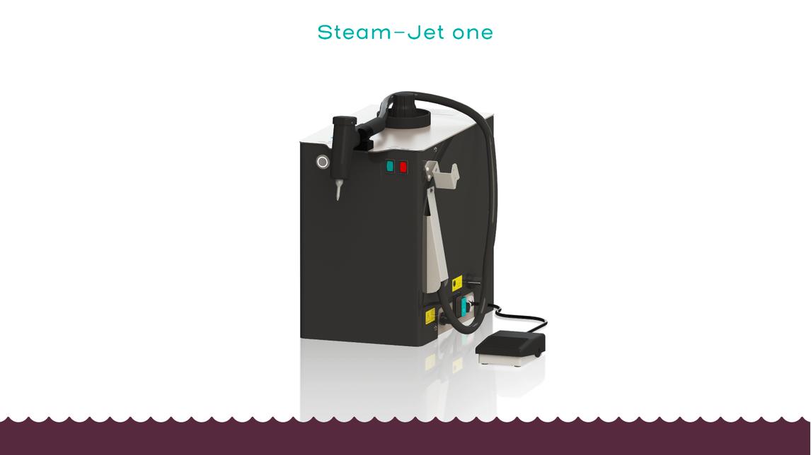 Logo Dampfstrahler  Steam-Jet one