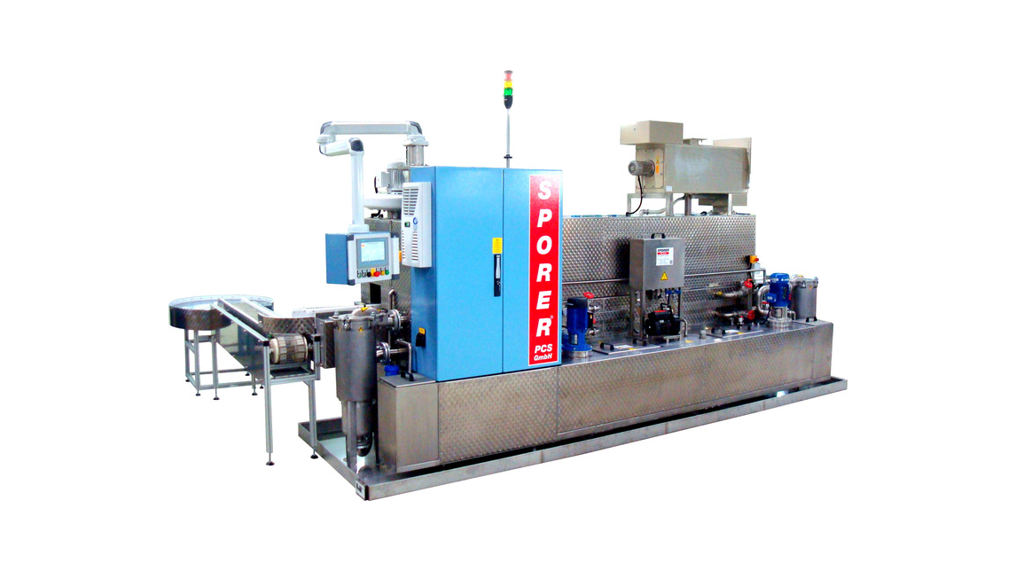 Logo Continuous cleaning machines
