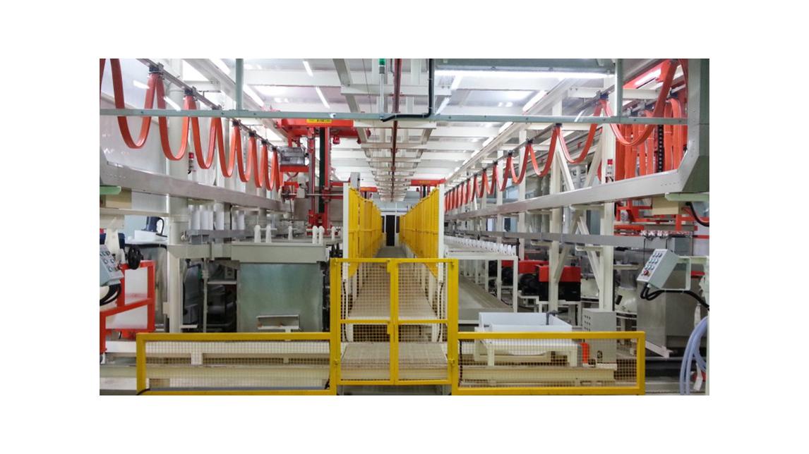 Logo Automatic Barrel Type Plating Equipment