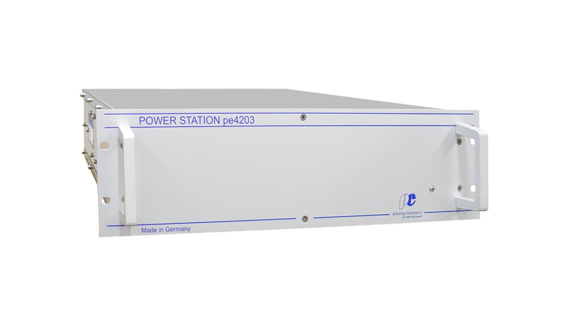 Logo POWER STATION pe4203-W