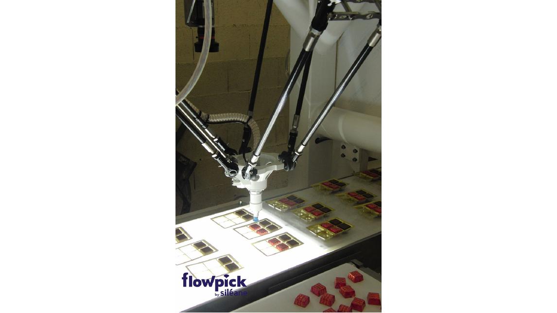 Logo FLOWPICK Pick & Place robotized machines