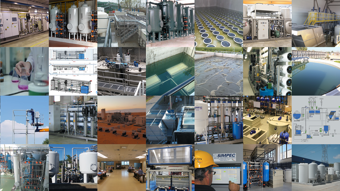 Logo WATER AND WASTE WATER TREATMENT PLANTS