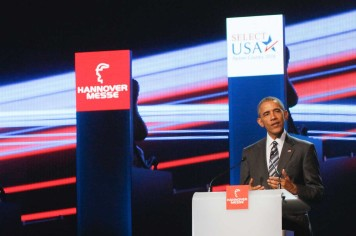 US President Barack Obama, HANNOVER MESSE 2016