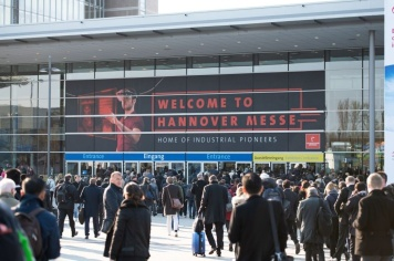 Eingang HANNOVER MESSE 2019